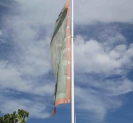 Bandera auspiciosa.